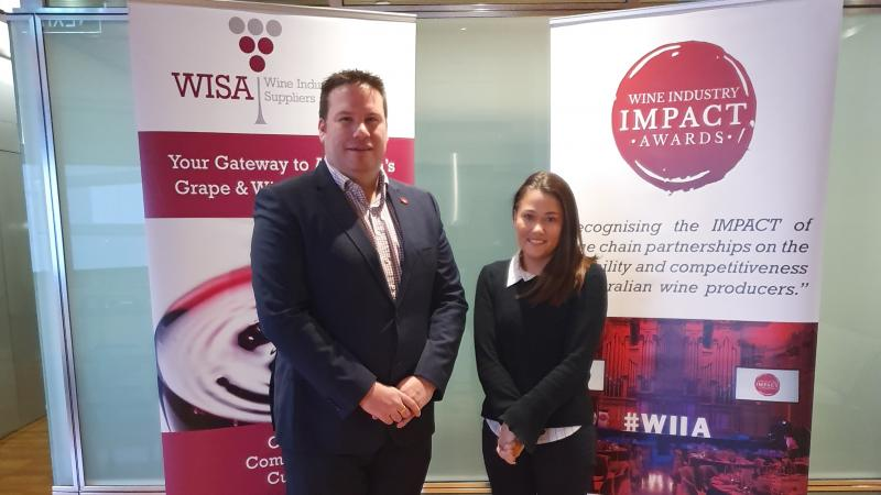 Matthew Moate welcomes Hannah Harding to WISA