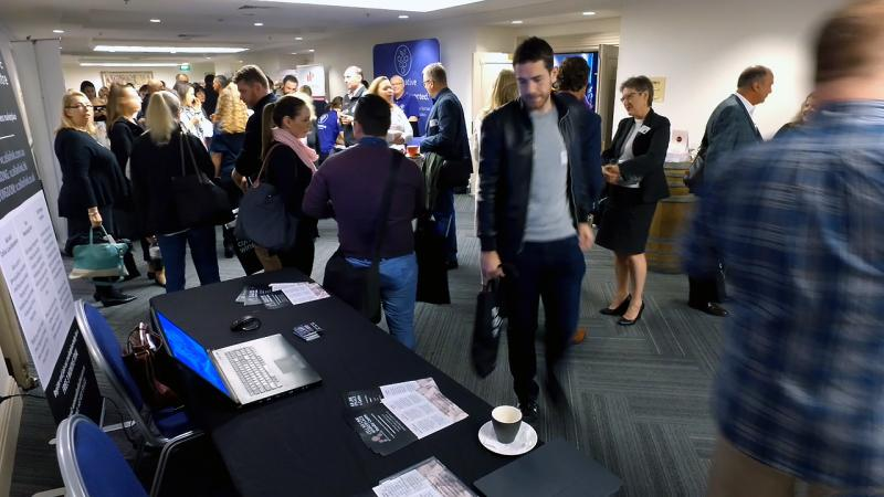 Business Networking Zone at Wine Industry IMPACT Conference